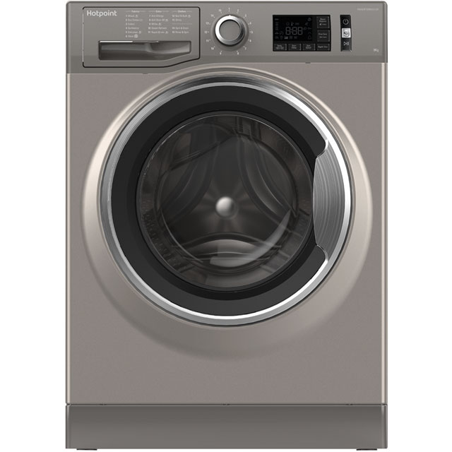 Hotpoint Active Care NM11946GCAUK 9Kg Washing Machine with 1400 rpm - Graphite - A+++ Rated