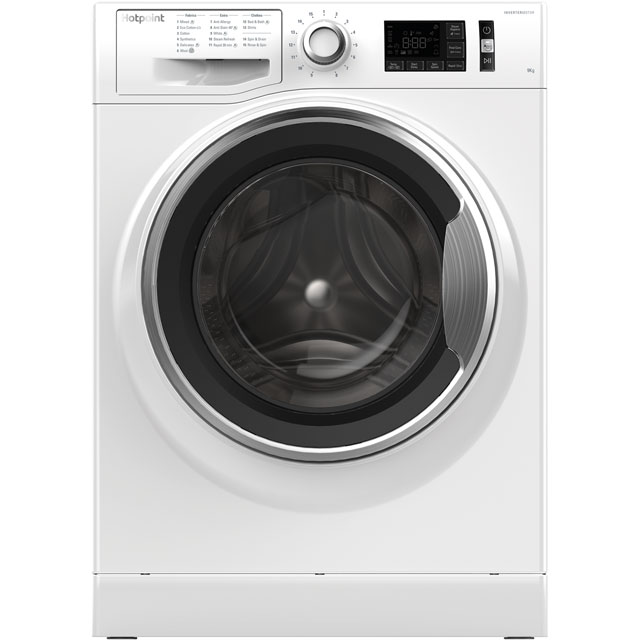 Hotpoint Active Care 9Kg Washing Machine - White - A+++ Rated