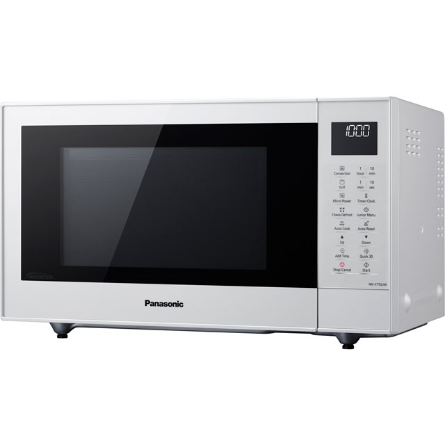 Panasonic NN-CT55JWBPQ 27 Litre Combination Microwave Oven - White - NN-CT55JWBPQ_WH - 1