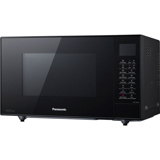Panasonic NN-CT56JBBPQ 27 Litre Combination Microwave Oven - Black - NN-CT56JBBPQ_BK - 1