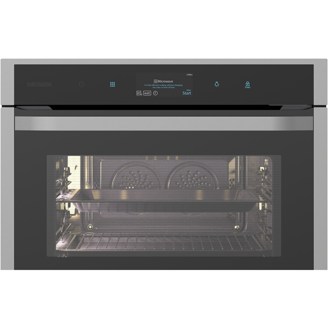 Samsung Chef Collection NQ50J9530BS Built In Electric Single Oven - Black / Stainless Steel - NQ50J9530BS_BKS - 2