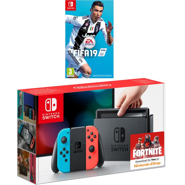 Nintendo Games FIFA NSHESSCST55241 Nintendo Switch in Red / Blue