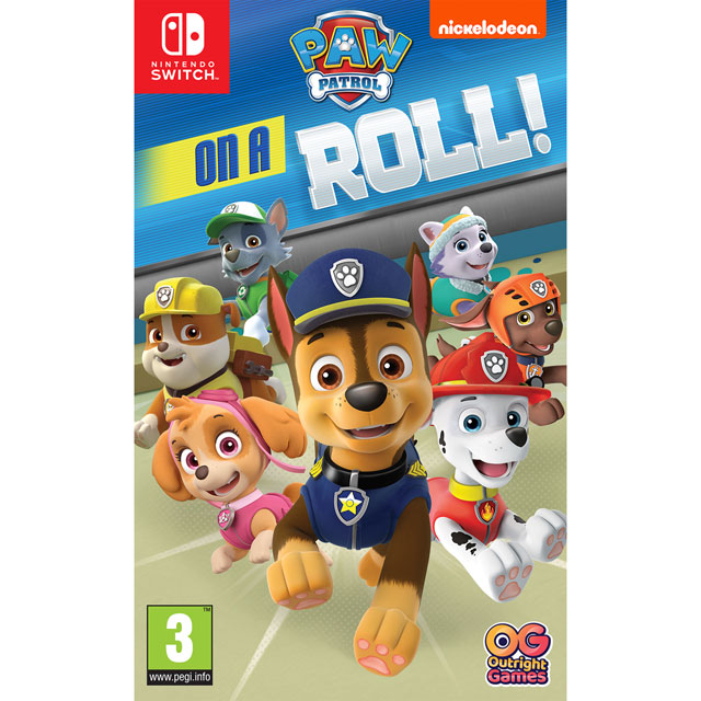 Paw Patrol: On A Roll for Nintendo Switch - NSKEAAINF03076 - 1
