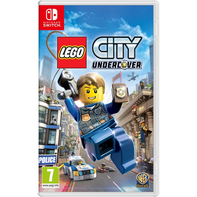 LEGO City Undercover for Nintendo Switch - NSKEAAWAR20670 - 1