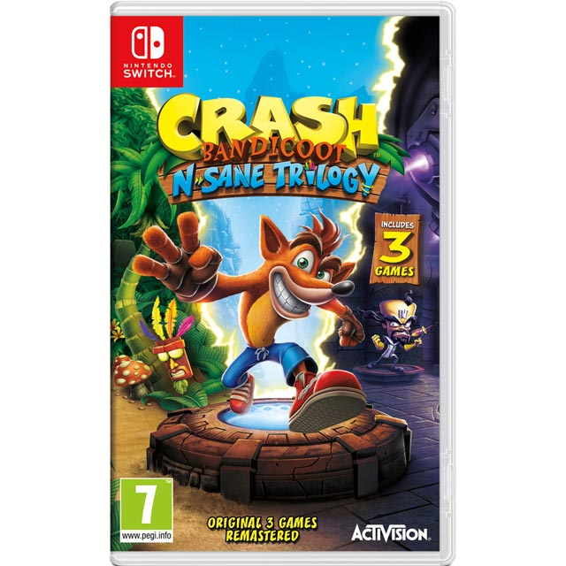 Crash Bandicoot N-Sane Trilogy for Nintendo Switch - NSKEADACT23673 - 1