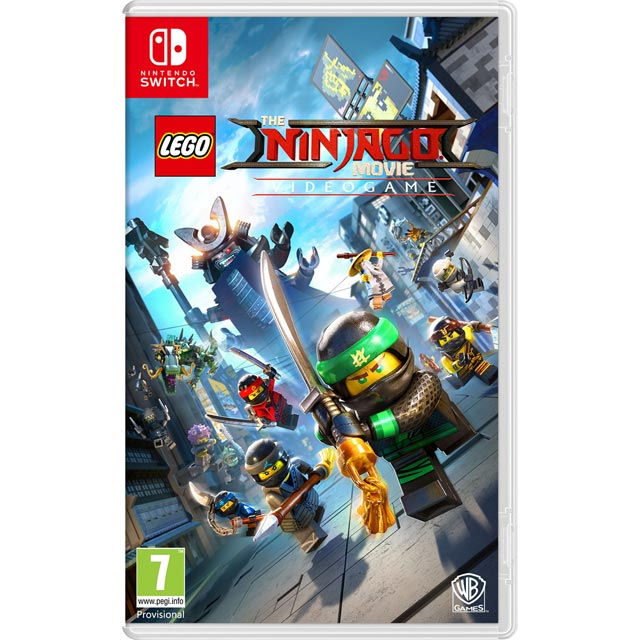 LEGO Ninjago Movie Videogame for Nintendo Switch