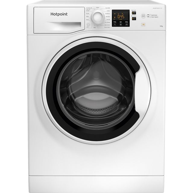 Hotpoint NSWA1043CWWUKN 10Kg Washing Machine with 1400 rpm - White - A+++ Rated