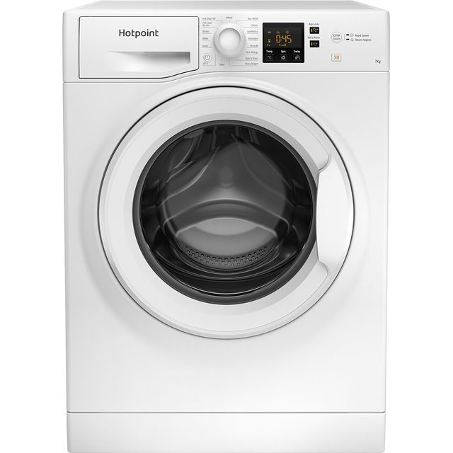 Hotpoint NSWM742UWUKN 7Kg Washing Machine - White - NSWM742UWUKN_WH - 1