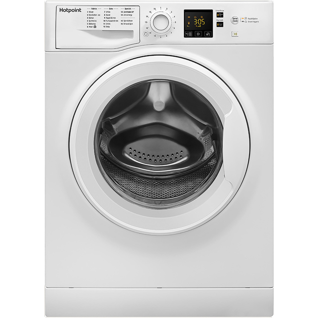 Hotpoint NSWM743UWUK 7Kg Washing Machine with 1400 rpm - White - A+++ Rated - NSWM743UWUK_WH - 1