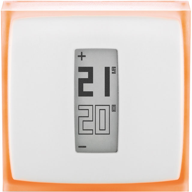 Netatmo Smart Thermostat - Requires Professional Install - Silver - NTH01-EN-EU - 1