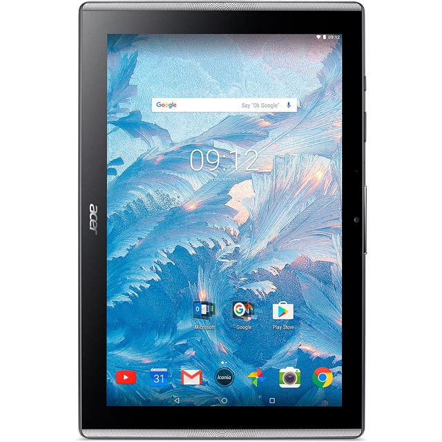 "Acer Iconia One 10.1"" 32GB Wifi Tablet - Black - NT.LE0EK.001 - 1"