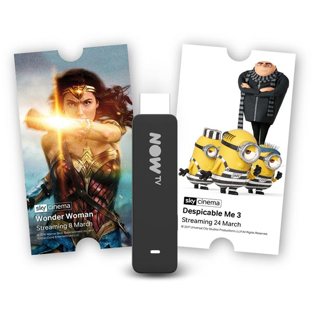 Now TV Smart Stick with 1-month Cinema Pass - Black - NTVSC1-AO - 1