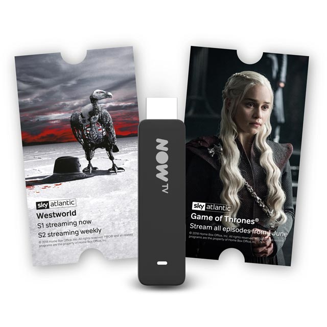 Now TV Smart Stick with 2-month Entertainment Pass - Black