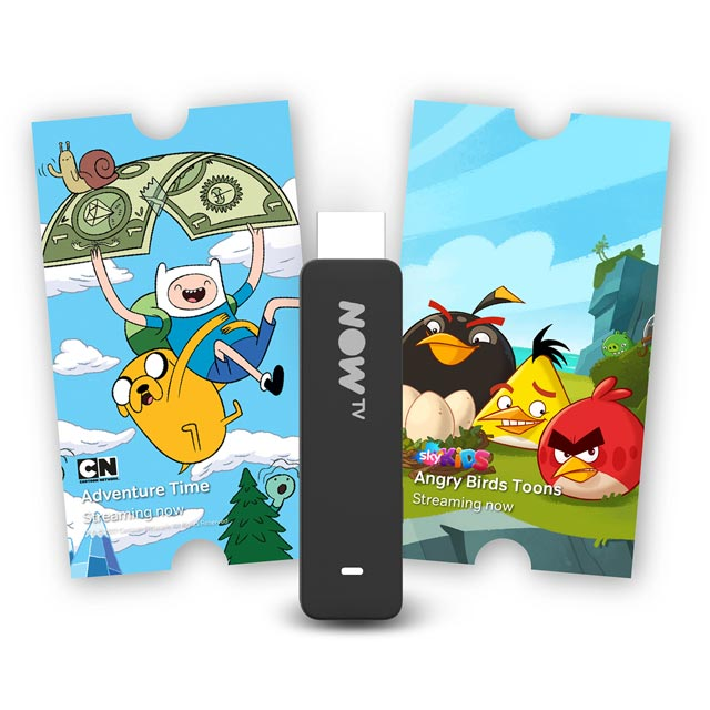 Now TV Smart Stick with 3-month Kids Pass - Black - NTVSK3-AO - 1
