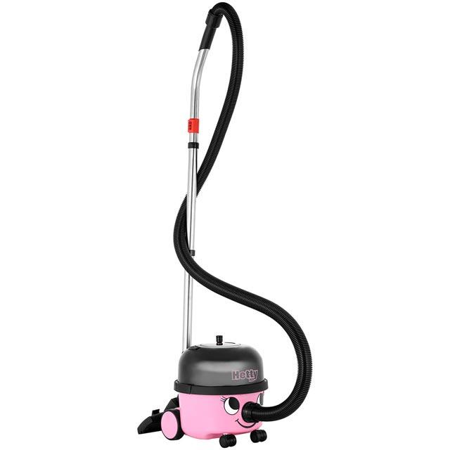 Numatic Hetty Compact HET160 Cylinder Vacuum Cleaner in Pink