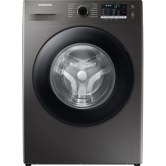Samsung Series 5 ecobubble� WW90TA046AX 9Kg Washing Machine with 1400 rpm - Graphite - A Rated