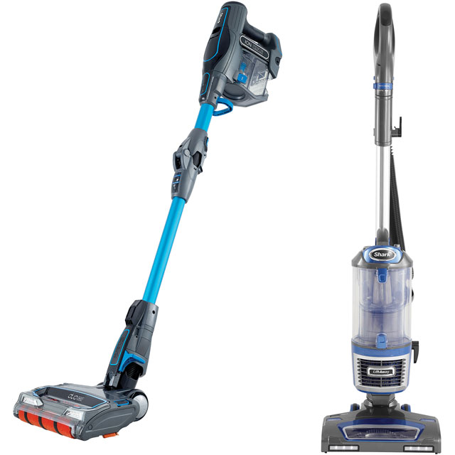 Shark NV601IF200UK Bagless Upright Vacuum Cleaner and Cordless Bundle - A Rated