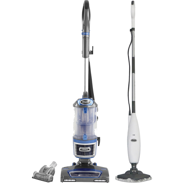 Shark NV601S3255UK Upright Vacuum Cleaner & Steam Mop Bundle with Free Accessories - NV601S3255UK_WH - 1