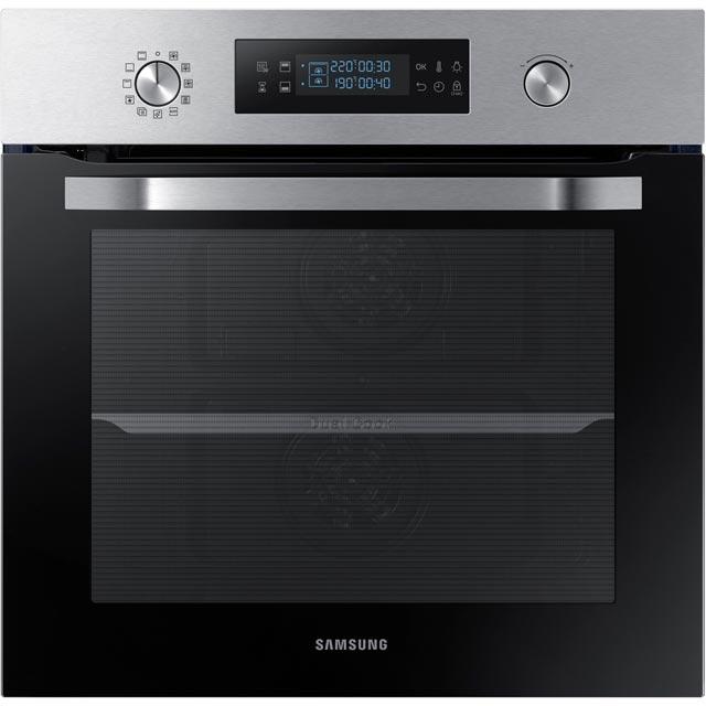 samsung dual cook nv66m3571bs integrated single oven in. Black Bedroom Furniture Sets. Home Design Ideas
