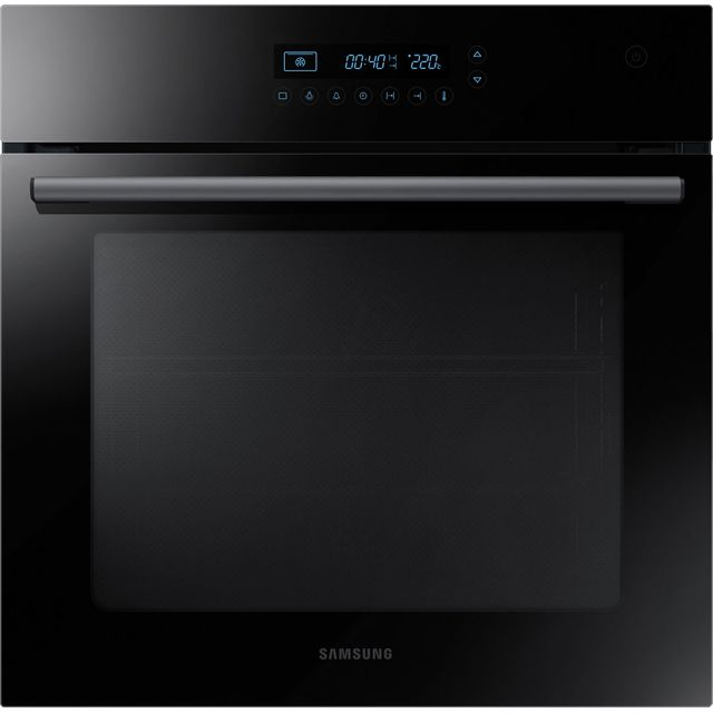 Samsung Prezio Electric Single Oven - Black / Glass - A Rated