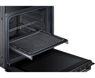 Samsung Prezio NV70H5587CB Built In Electric Single Oven - Black / Glass - NV70H5587CB_BK - 4