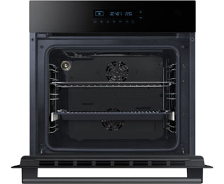 Samsung Prezio NV70H5587CB Built In Electric Single Oven - Black / Glass - NV70H5587CB_BK - 5