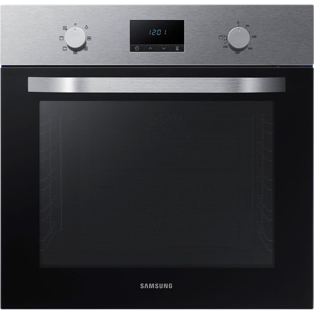 Samsung Dual Fan NV70K1310BS Built In Electric Single Oven - Stainless Steel - NV70K1310BS_SS - 1