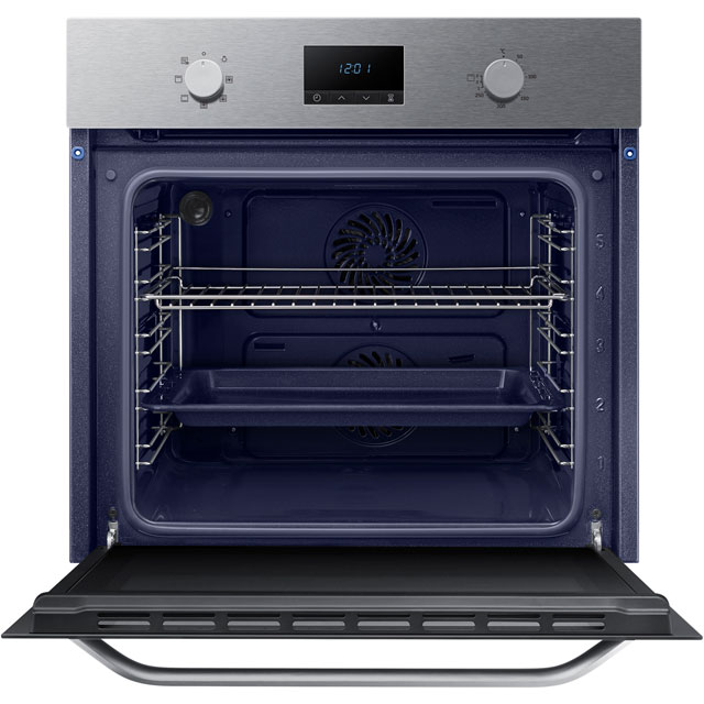 Samsung Dual Fan NV70K1310BS Built In Electric Single Oven - Stainless Steel - NV70K1310BS_SS - 2