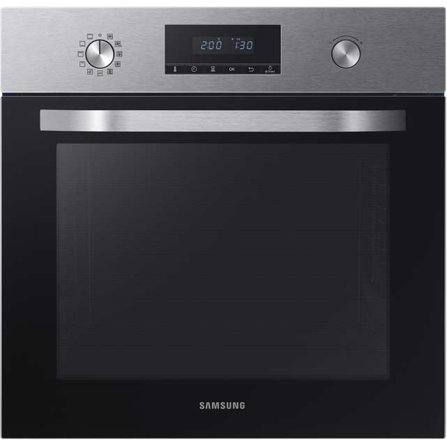 Samsung Dual Fan NV70K2340RS Built In Electric Single Oven - Stainless Steel