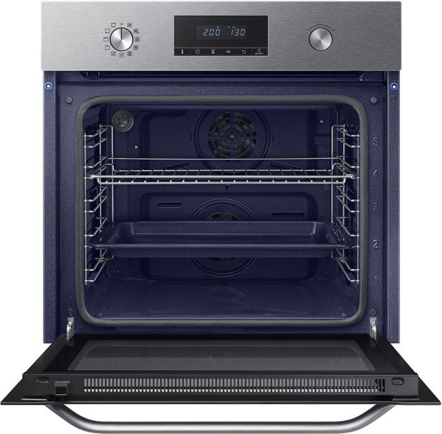 Samsung Dual Fan NV70K3370BS Built In Electric Single Oven - Stainless Steel - NV70K3370BS_SS - 2
