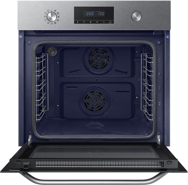 Samsung Dual Fan NV70K3370BS Built In Electric Single Oven - Stainless Steel - NV70K3370BS_SS - 3