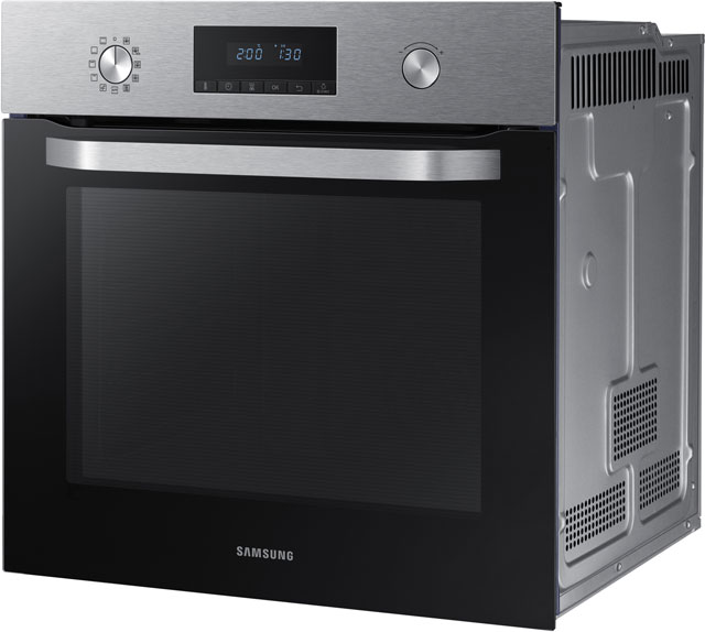 Samsung Dual Fan NV70K3370BS Built In Electric Single Oven - Stainless Steel - NV70K3370BS_SS - 4