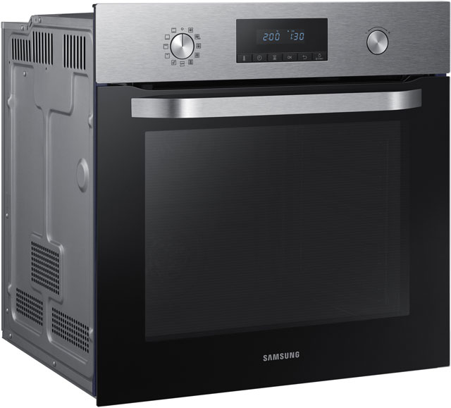 Samsung Dual Fan NV70K3370BS Built In Electric Single Oven - Stainless Steel - NV70K3370BS_SS - 5