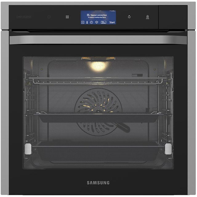 Samsung Chef Collection Electric Single Oven - Black / Stainless Steel - A+ Rated