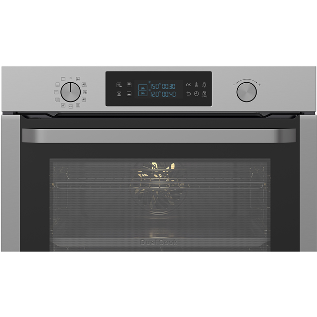 Samsung Dual Cook NV75K5571RS Built In Electric Single Oven - Stainless Steel - NV75K5571RS_SS - 2