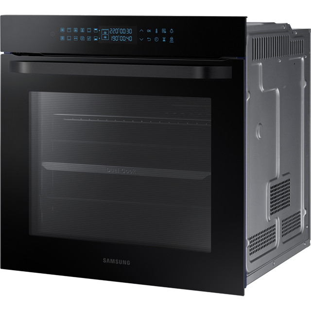 Samsung Prezio Dual Cook NV75R7576RB Built In Electric Single Oven - Black Glass - NV75R7576RB_BKG - 2
