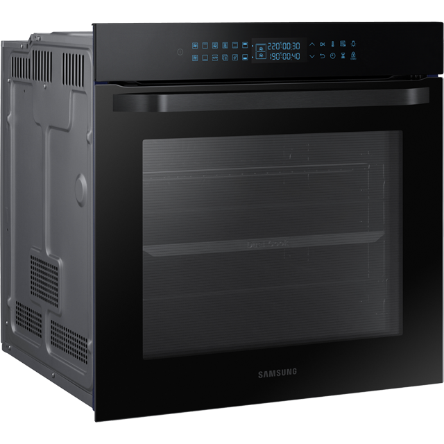Samsung Prezio Dual Cook NV75R7576RB Built In Electric Single Oven - Black Glass - NV75R7576RB_BKG - 3