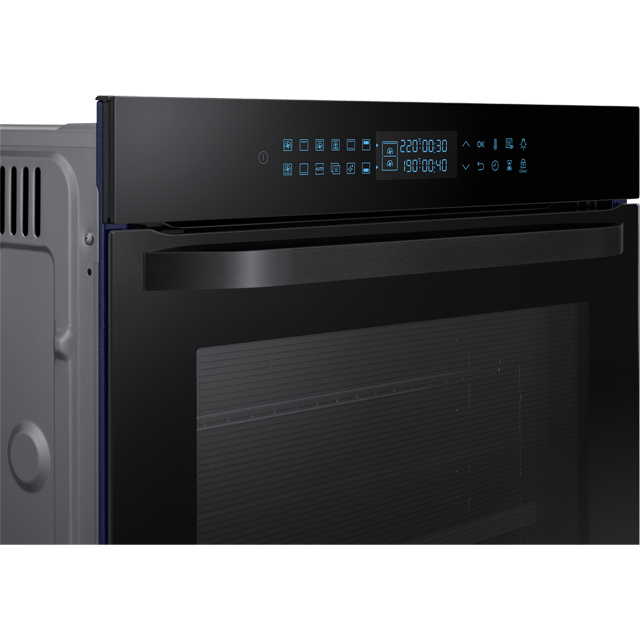 Samsung Prezio Dual Cook NV75R7576RB Built In Electric Single Oven - Black Glass - NV75R7576RB_BKG - 4