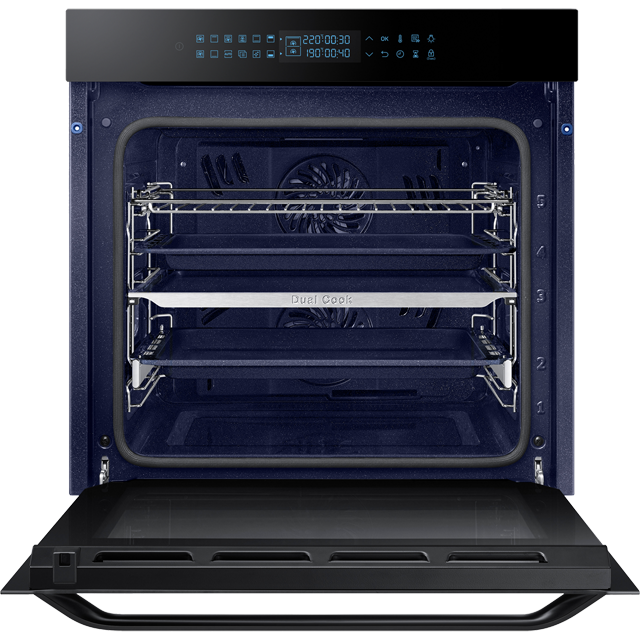 Samsung Prezio Dual Cook NV75R7576RB Built In Electric Single Oven - Black Glass - NV75R7576RB_BKG - 5