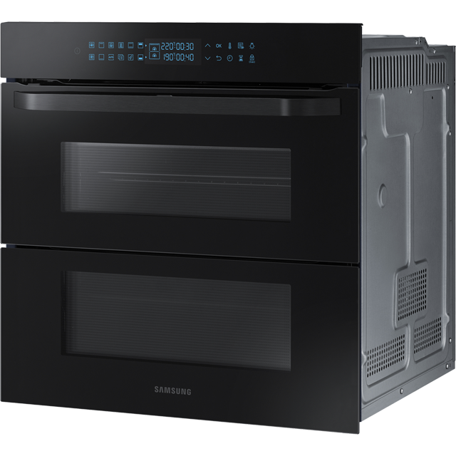 Samsung Prezio Dual Cook Flex NV75R7676RB Built In Electric Single Oven - Black Glass - NV75R7676RB_BKG - 2