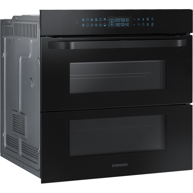 Samsung Prezio Dual Cook Flex NV75R7676RB Built In Electric Single Oven - Black Glass - NV75R7676RB_BKG - 3