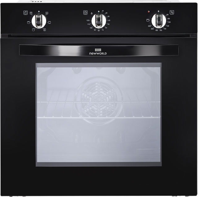 Newworld NW602F Built In Electric Single Oven - Black - A Rated