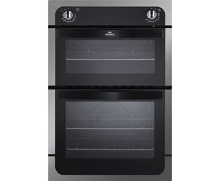 Newworld NW901DO Built In Double Oven - Stainless Steel - A Rated - NW901DO_SS - 1