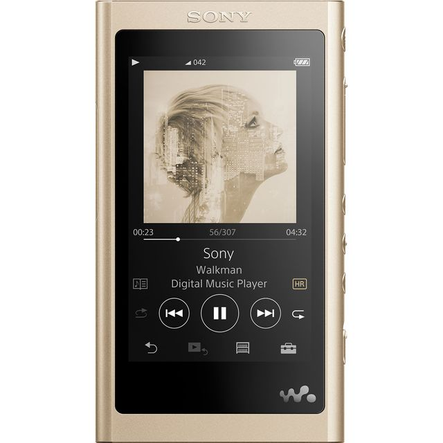 Sony A55 Walkman With Built-in USB - Gold