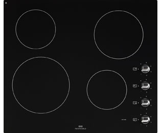 Newworld NWCR602 59cm Ceramic Hob - Black