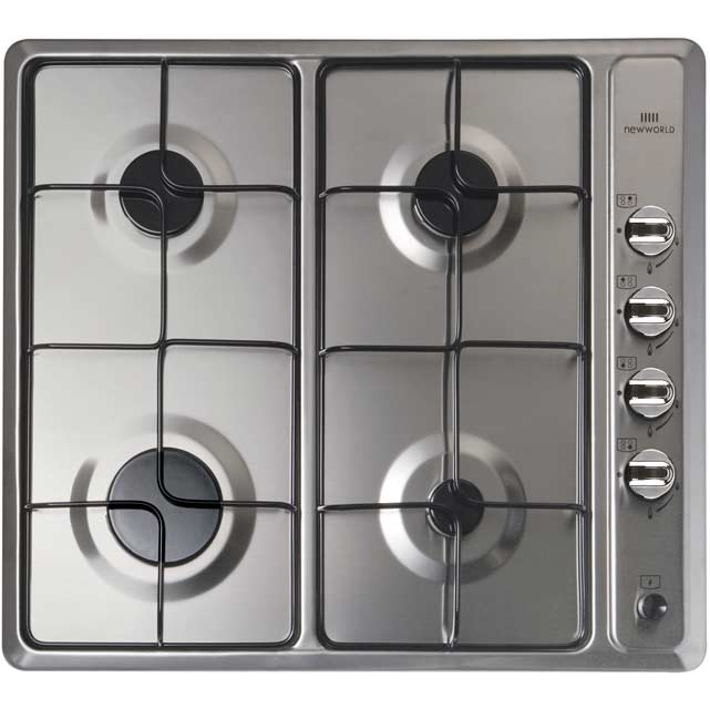 Product image for Newworld NWGHU601 58cm Gas Hob - Stainless Steel