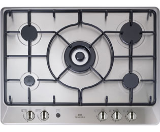 Newworld NWGHU701 Built In Gas Hob - Stainless Steel - NWGHU701_SS - 1