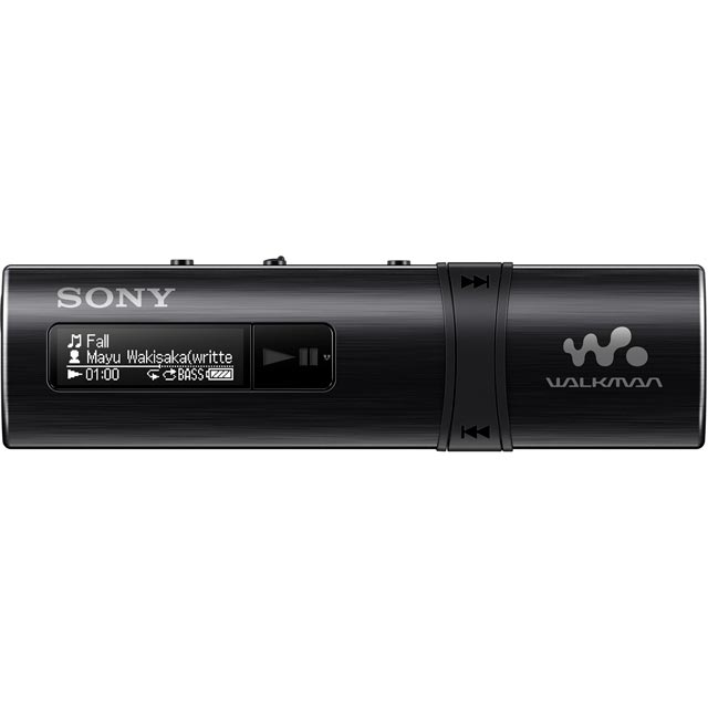 Sony NWZ-B183 Walkman With Built-In USB - Black - NWZB183B.CEW - 1
