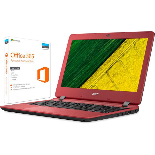 Acer NX.GHKEK.012 Laptop in Red