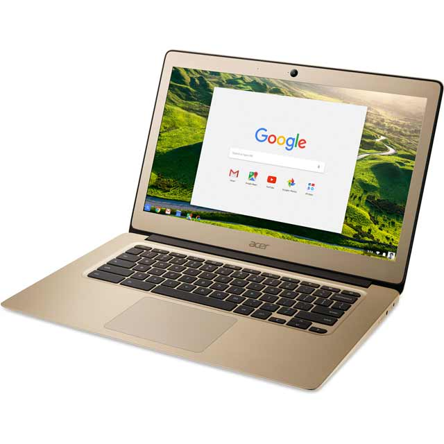 "Acer CB3-431 14"" Chromebook - Gold"